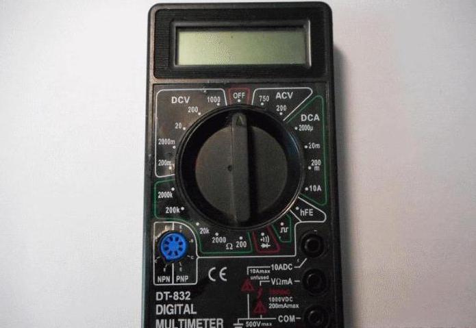 Мультиметр dt832 инструкция