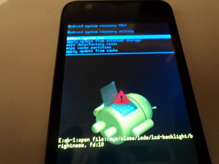 Как сделать жесткую перезагрузку андроид флай6